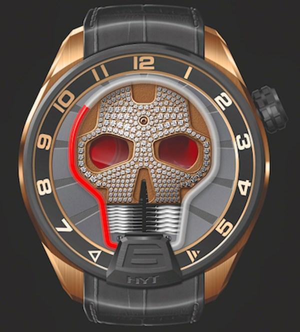 HYT Skull Diamond Limited Edition