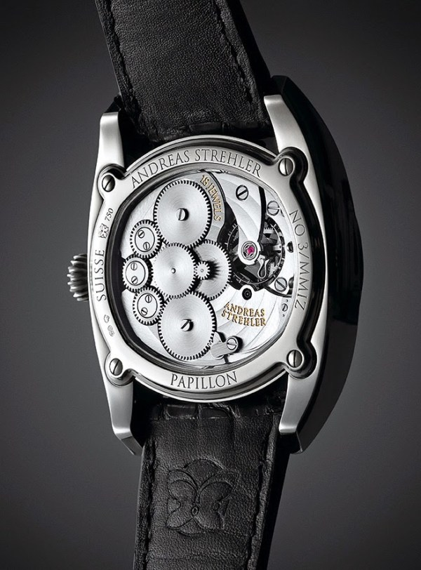 Andreas Strehler Papillon watch movement