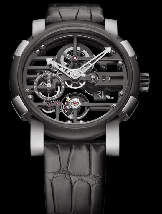 RJ-Romain Jerome Skylab 48 Speed Metal watch