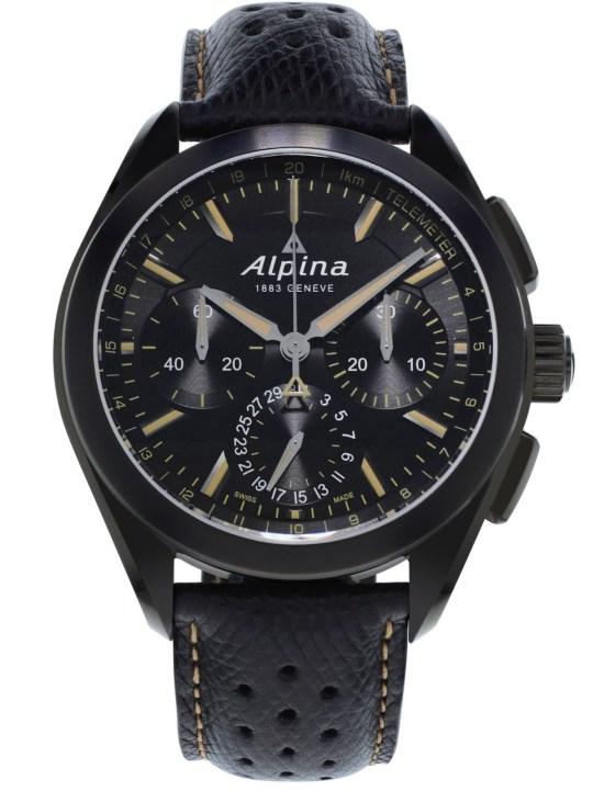 "Alpina ""Full Black"" Alpiner 4 Manufacture Flyback Chronograph"