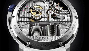 HYT H1 ICEBERG 2 Limited Edition case-back view