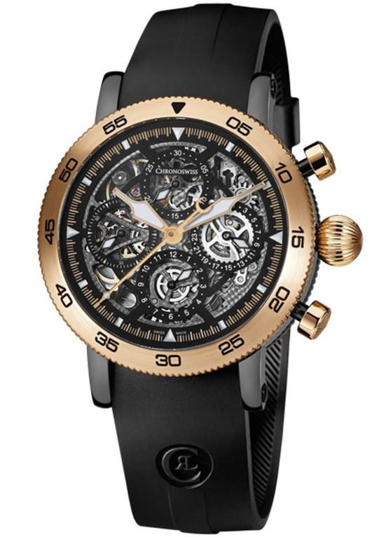 Chronoswiss Timemaster Chronograph Skeleton CH-9045RS