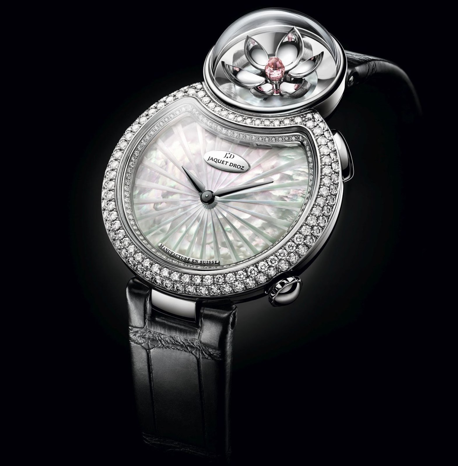 Jaquet Droz Lady 8 Flower (Reference: J032003270 & Reference