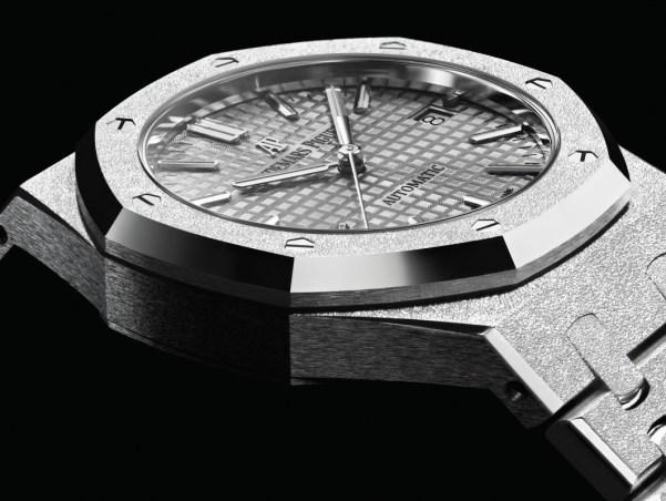 Audemars Piguet Royal Oak Frosted Gold watch for women