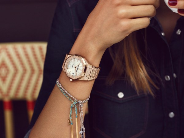 Audemars Piguet Royal Oak Frosted Gold watch for ladies