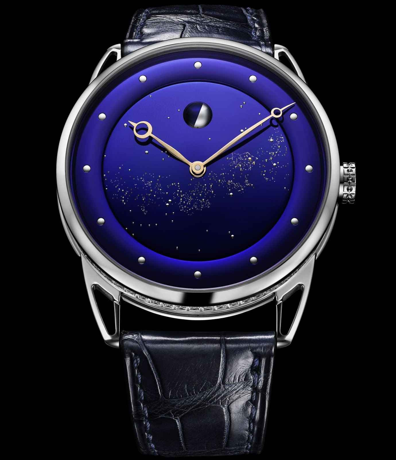 a27508085b De Bethune Manufacture's craftsmen have used an artful combination of  elements and materials to encapsulate in gold and glass a few drops of the  essence of ...