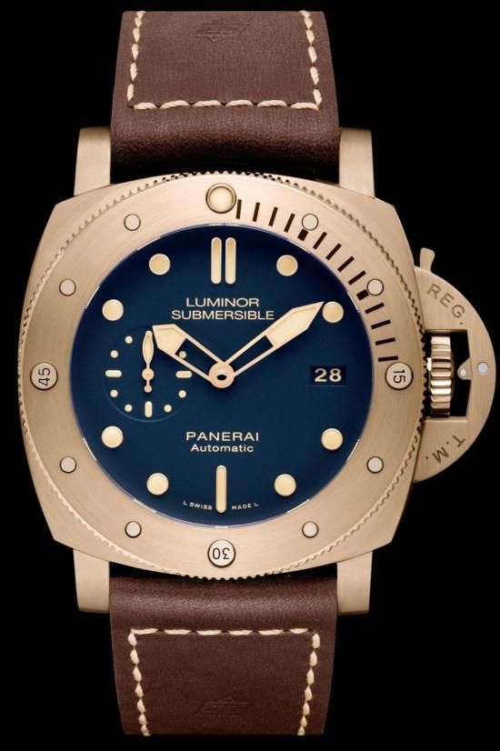 Panerai Luminor Submersible 1950 3 Days Automatic Bronzo – 47mm Reference: PAM00671