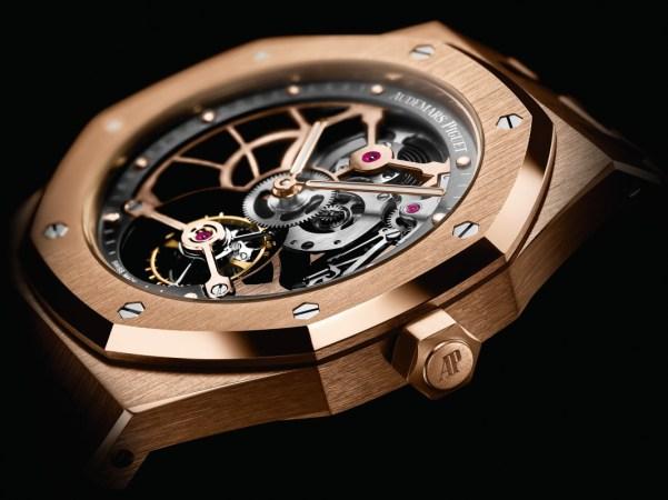 Audemars Piguet Royal Oak Tourbillon Extra-Thin Open Worked pink gold