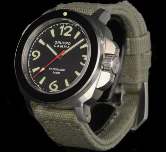 Gruppo Gamma Vanguard Mk IV watch