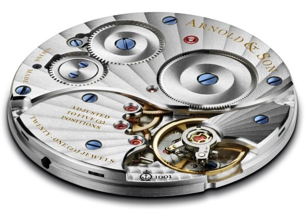 Arnold and Son ultra-thin A&S1001 manufacture movement