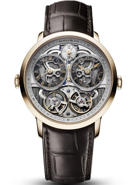Arnold and Son DBG Skeleton watch