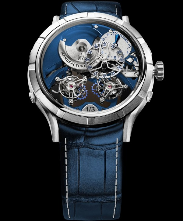 Manufacture Royale 1770 'Micromegas' Révolution - New Editions (blue and silver)