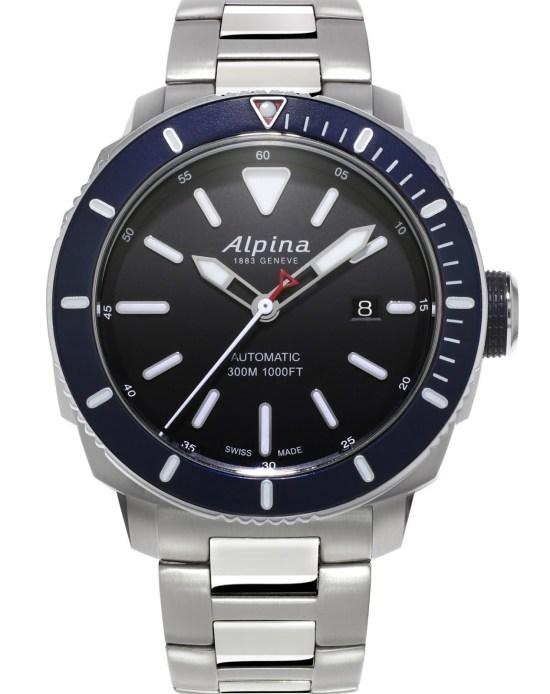 Alpina Seastrong Diver 300 New Edition Reference: AL-525LBN4V6B