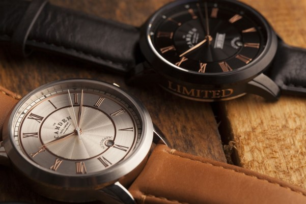 The Camden Watch Company No.29 Automatic watches