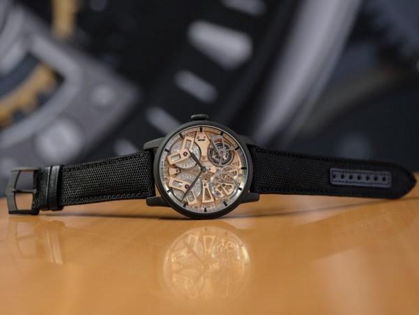 Arnold and Son Tourbillon Chronometer No.36 Gunmetal watch