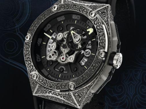 Franck Dubarry Crazy Wheel watch