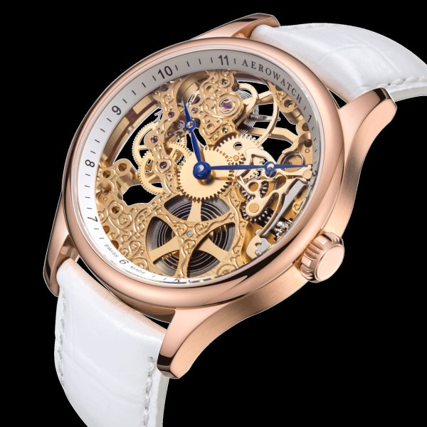 AEROWATCH Renaissance Squelette Dame (Ladies' Skeleton Watch)