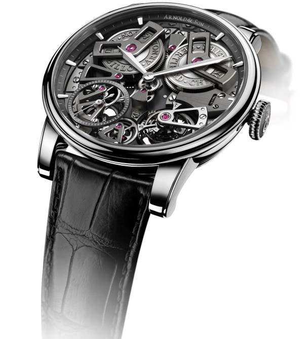 Arnold and Son Tourbillon Chronometer No.36, Tribute Edition Stainless steel watch