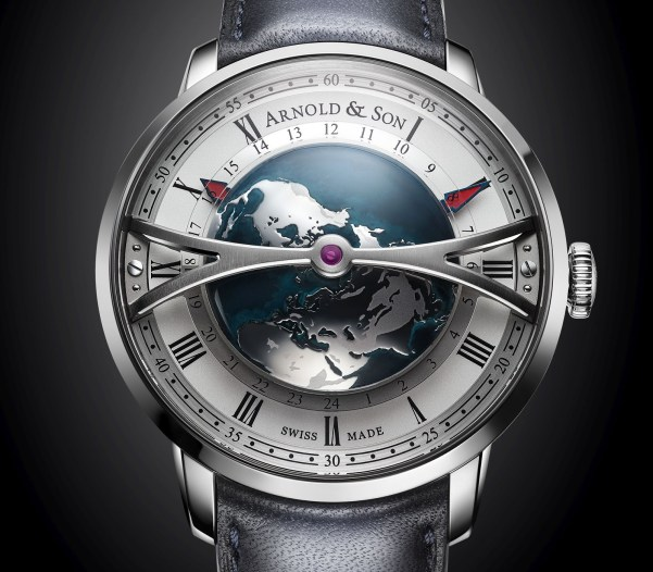 Arnold and Son Globetrotter watch