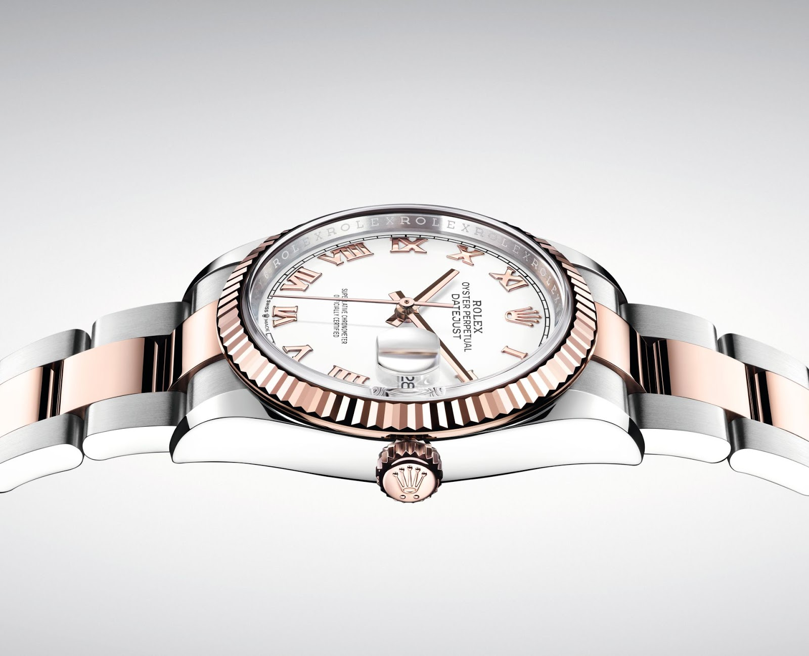 0a3bbb35d48 Rolex Oyster Perpetual Datejust 36 New Generation – Everose Rolesor and  Yellow Rolesor Models
