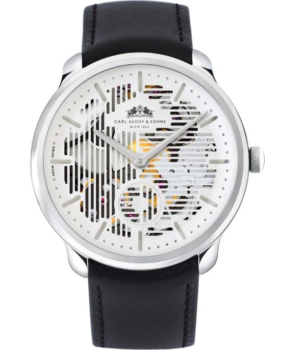Carl Suchy & Söhne Waltz N°1 Skeleton watch