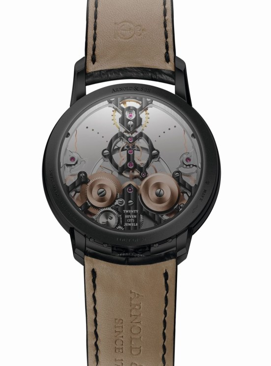 Arnold and Son Time Pyramid Black Edition watch