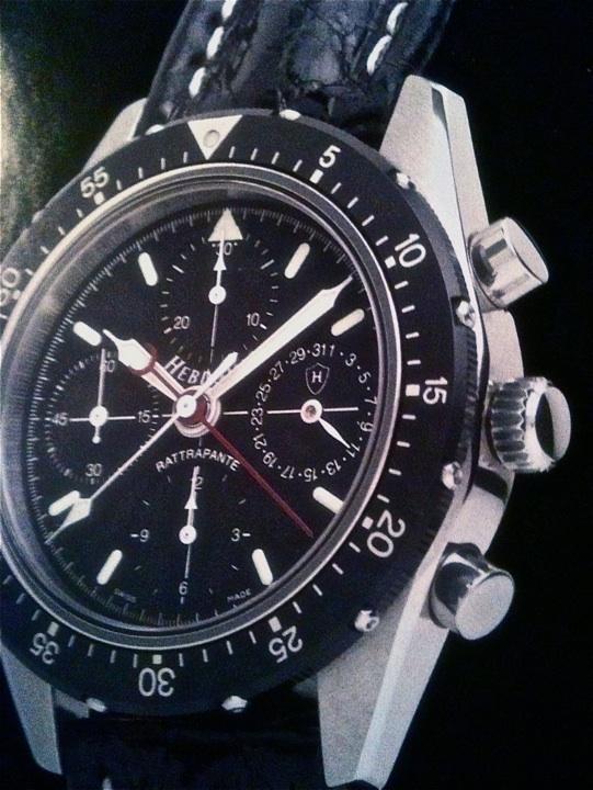 HEBDOMAS Split seconds chronograph