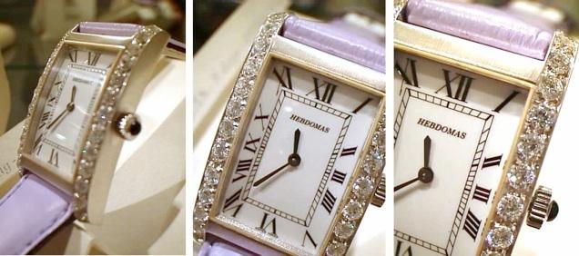 HEBDOMAS Lady's Wrist watches