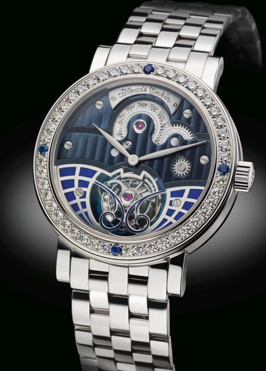 ALEXIS GARIN Tourbillon New York Grand luxe watch