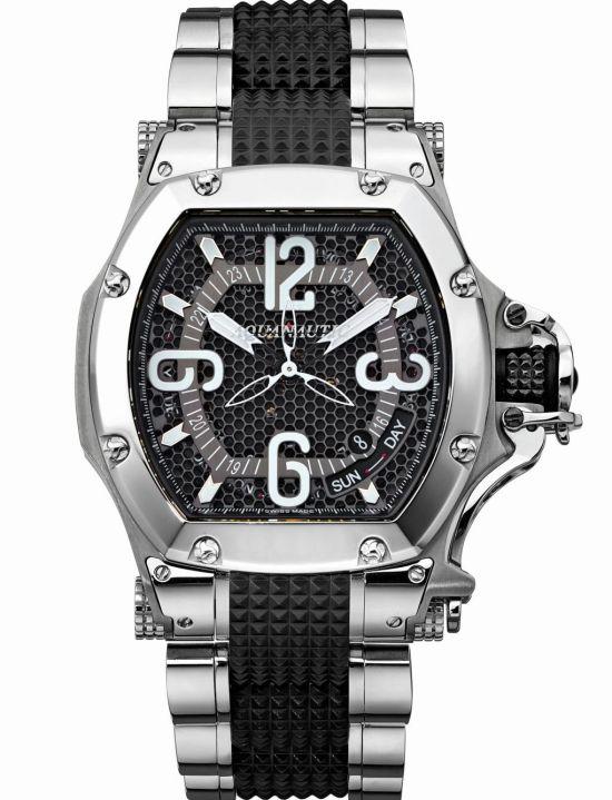 Aquanautic King Tonneau 3H diving watch
