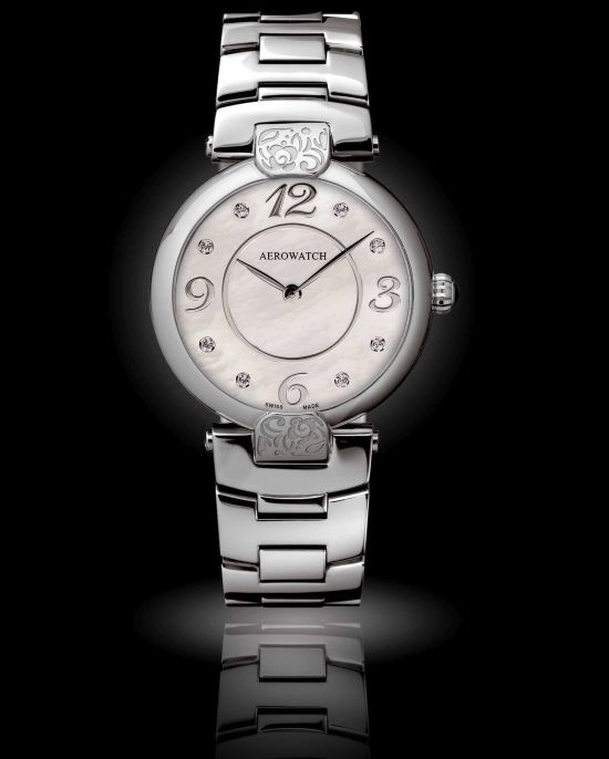 AEROWATCH Arelquin Fllorale ladies quartz watch Reference 33933 AA03 M