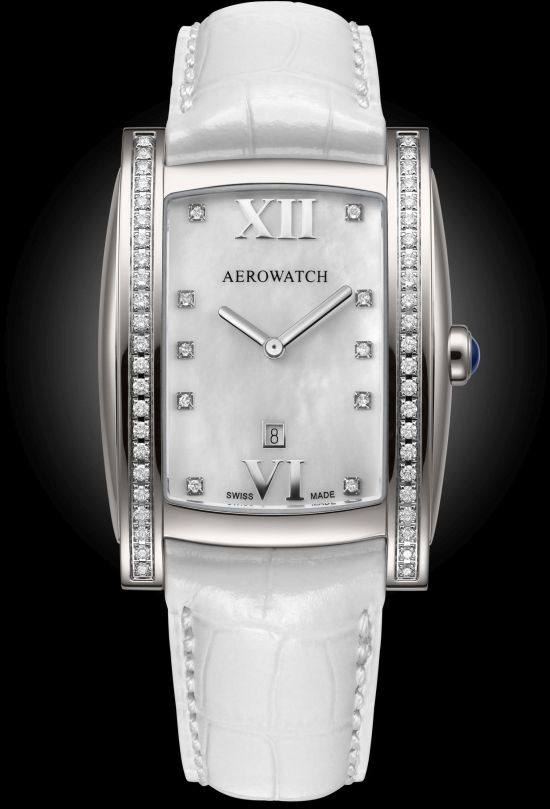 Aerowatch Idylle Ref. A 03952 AA01 DIA ladies' diamond set watch