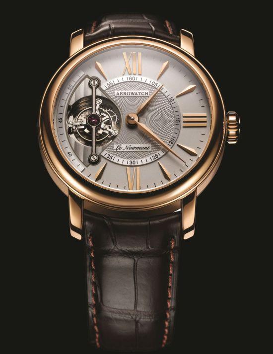 Aerowatch Tourbillon Renaissance Rose Gold Limited Edition Watch (Ref. 01920 R 801)