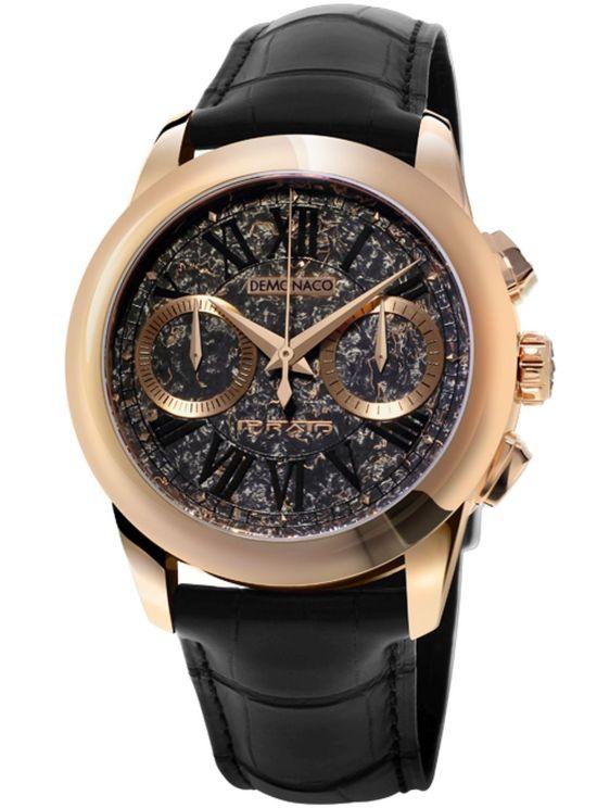 Ateliers deMonaco Admiral Chronographe Flyback Prato, Rose Gold Edition