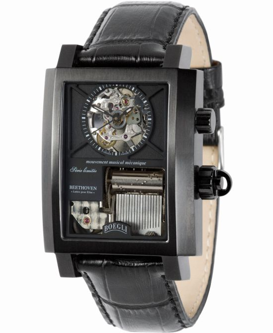 BOEGLI Grand Festival Classic Rock Limited Edition music wrist watch