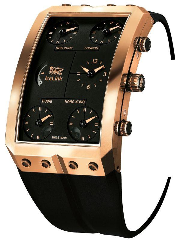 """Icelink """"Zermatt Gold"""" Limited-Edition watch"""