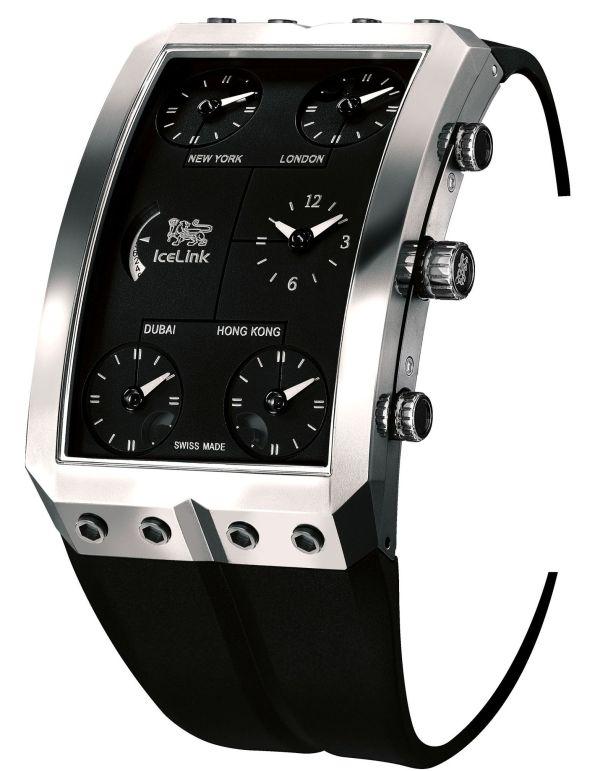 "Icelink ""Zermatt Gold"" Limited-Edition mechanical watch"