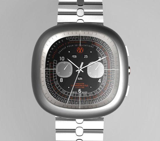 A.Manzoni & Fils Canopus Automatic Chronograph