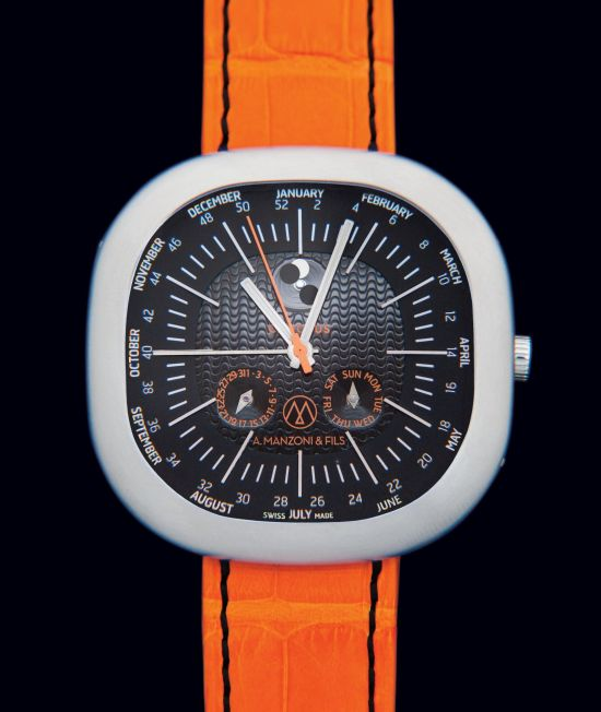 A.Manzoni & Fils Canopus Weekplanner automatic watch
