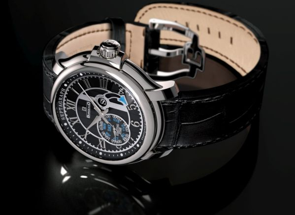 BORGEAUD SEPTAGRAPH PERPETUEL watch made in switzerland