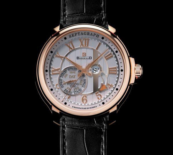 BORGEAUD swiss Panchang watch