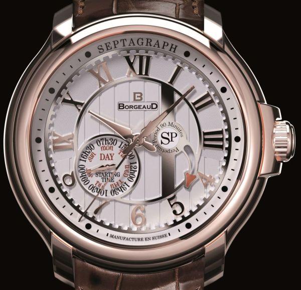 BORGEAUD Panchang watch swiss made