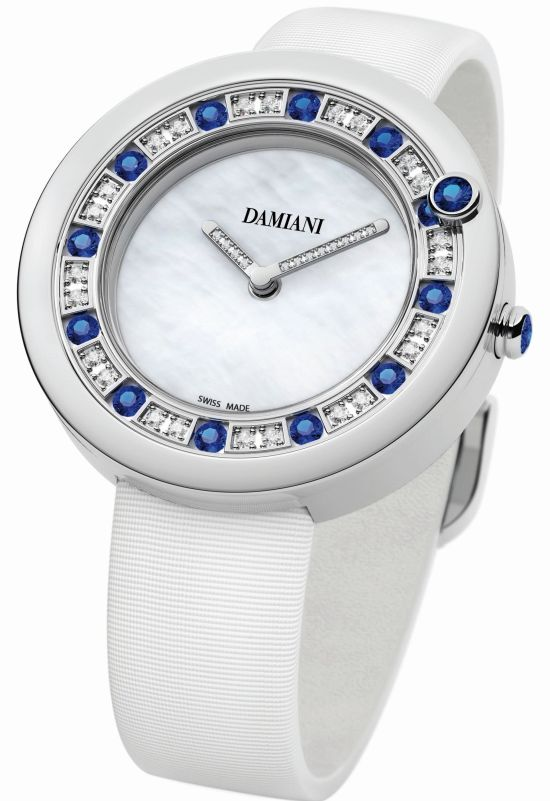 Damiani Belle Epoque watch with sapphires