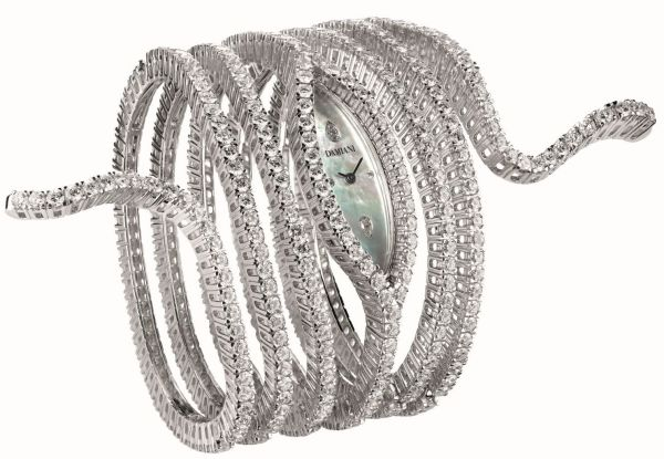 Damiani Eden Masterpiece diamond set watch