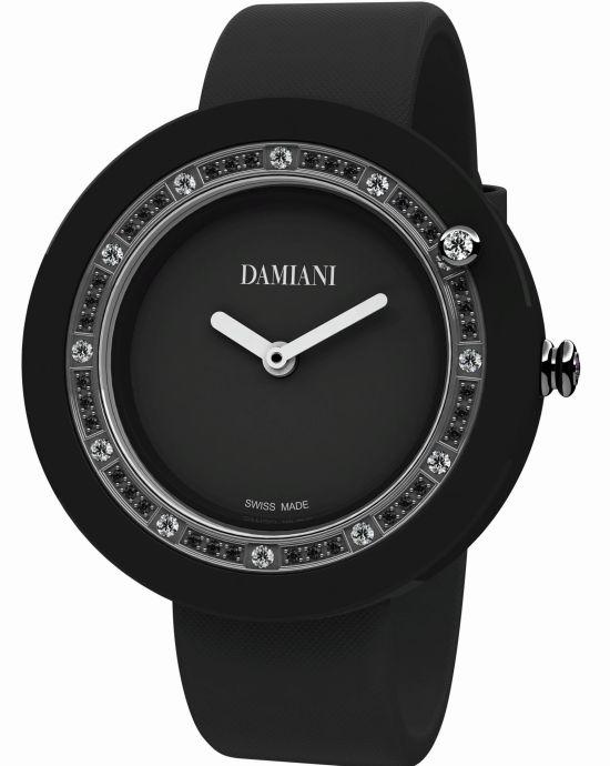 Damiani Belle Époque Black Ceramic and Diamonds watch