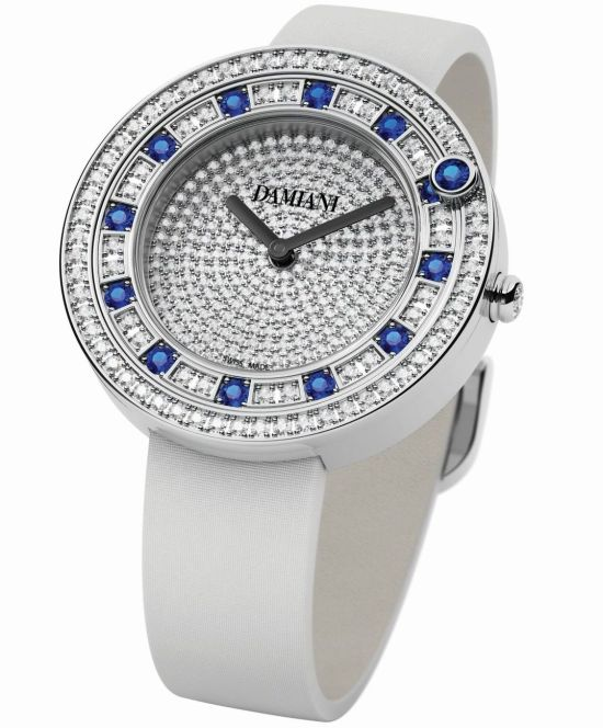 Damiani Belle Époque Watch with Full-setting (Sapphires)