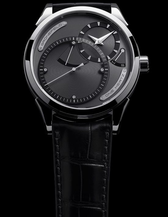 Gronefeld One Hertz 1912 - The World's First Independent Deadbeat Seconds Series Wristwatch