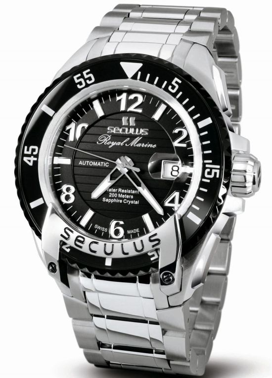 SECULUS Royal Marine Limited Edition diving watch