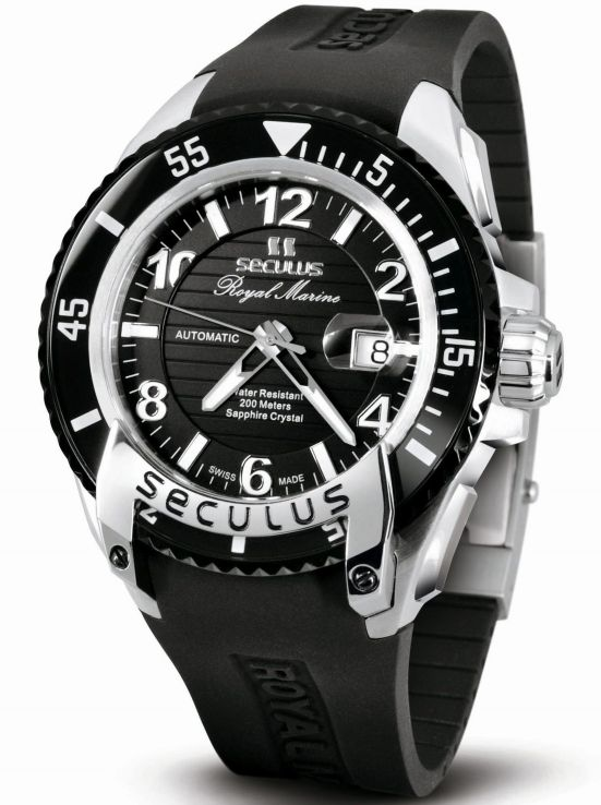 SECULUS Royal Marine Limited Edition dive watch