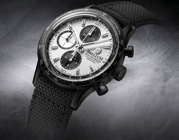 Brellum Pandial Black DLC Chronometer watch